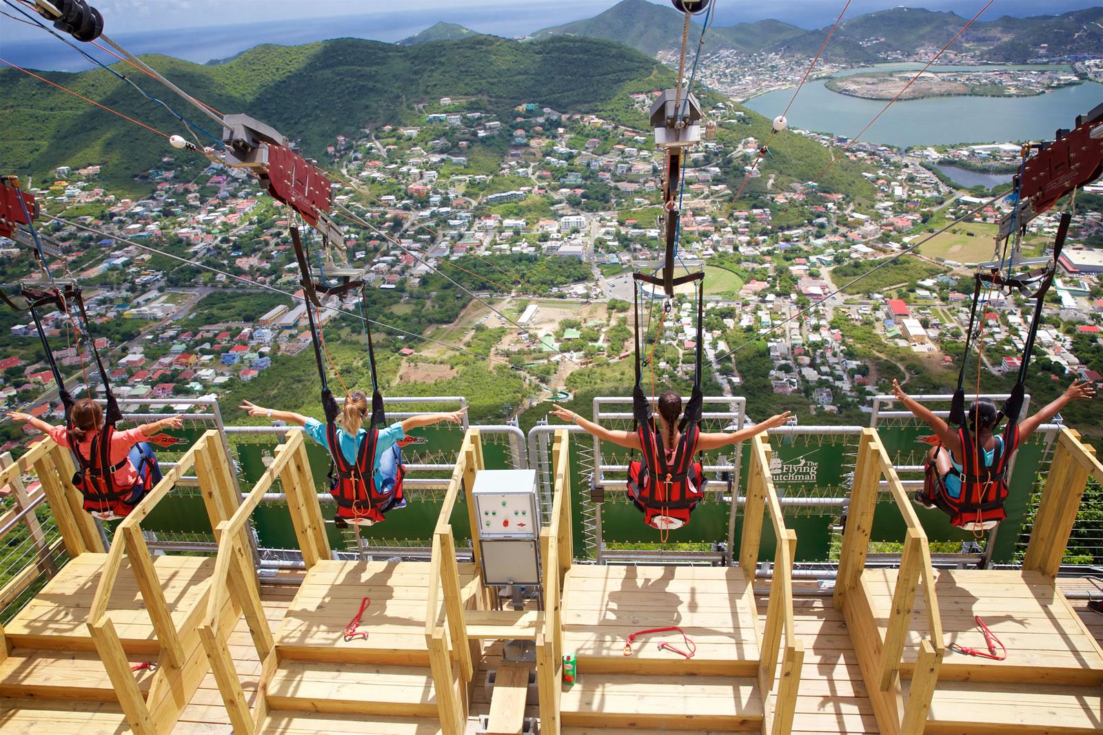 Ervaar de steilste zipline ter wereld
